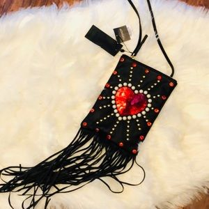 NWT Topshop embellished crossbody bag